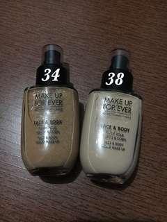 MUFE Face & Body Liquid Makeup