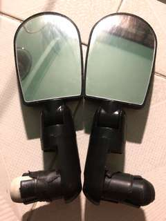 Side mirror for scooter