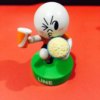LINE Friends 7-Eleven - World Cup 2014 Moon Figurine
