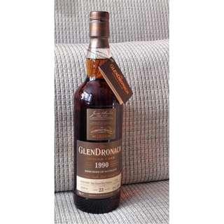 Glendronach 23Yrs 1990 cask 2190 PX Puncheon Single Malt Whisky