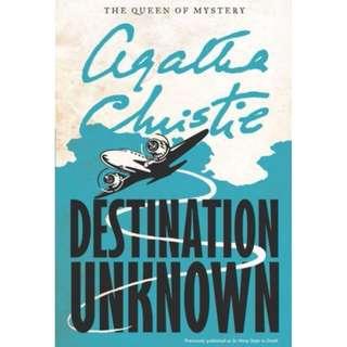 [eBook] Destination Unknown - Agatha Christie