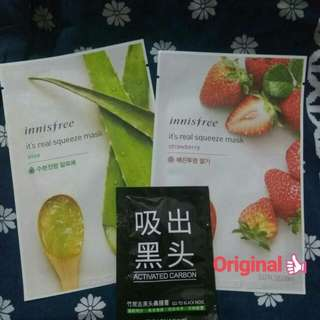 [FreeOngkir] Innisfree Sheet Mask Promo Murah Ori