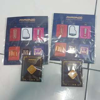 Mamamoo Badges Full Set