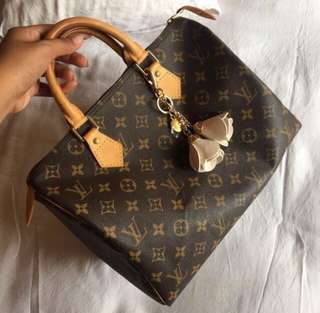 Authentic lv speedy murah