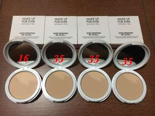 MUFE White Definition Powder