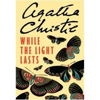 [eBook] While the Light Lasts - Agatha Christie