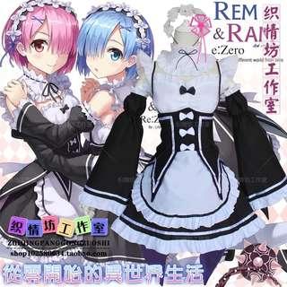 COSPLAY Ram or Rem