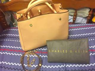 Pre-loved Charles & Keith Large City Bag