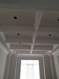 Plaster crown moulding and fireplace installation!!!