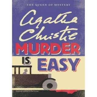 [eBook] Murder is Easy - Agatha Christie