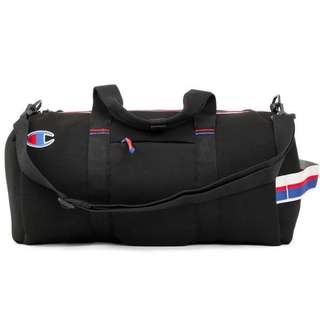 INSTOCK Champion Attribute Duffle Bag (Black)