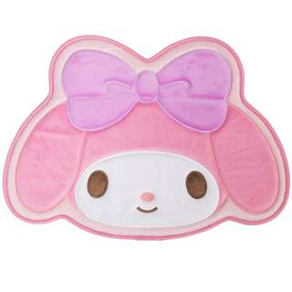 🌟My Melody Die Cut Character Cushioned Floor Mat Original Sanrio Anti-slip backing from Japan