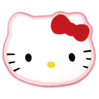 🌟Hello Kitty Cushioned Character Floor Mat Original Sanrio Anti-slip backing from Japan