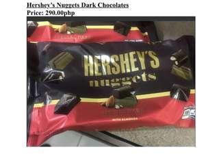 Sweets and Chocolates (Hersheys, Nugget, Babyruth, Twix, Chocolate Seashells, Crunch, Pepero, Lifesaver Gummies, Nerds)