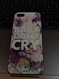 Baby Don't Cry iPhone Case