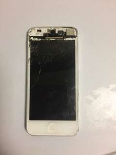 iPhone 5 (cracked)