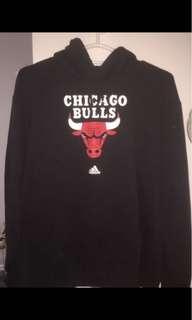 Black Chicago Bulls Sweater