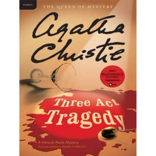 [eBook] Three Act Tragedy - Agatha Christie