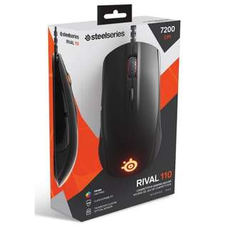 Gaming Mouse Steelseries Rival 110 + FREE Mousepad Steelseries QcK Mini