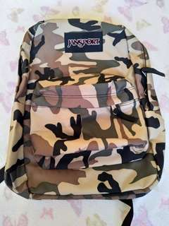 Camouflage large jansport