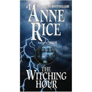 [eBook] Witching Hour - Anne Rice
