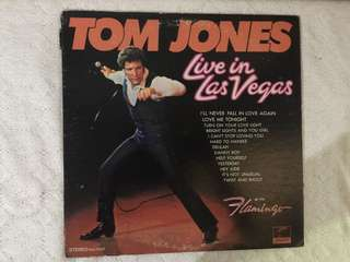 Tom Jones in Las Vegas Vinyl cd