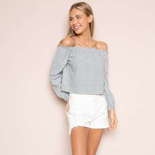 Brandy Melville Theia Off the Shoulder Top
