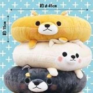 🌟XL Mameshiba Brothers Donuts Plush Toy Original from Japan (Sanrio San-X Plushies Toreba)
