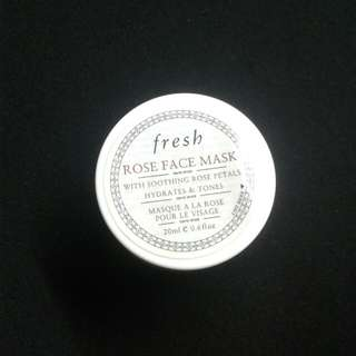 Fresh rose mask
