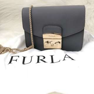 Furla Metropolis Chain Shoulder Bag