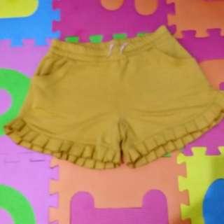 Yellow sexy short