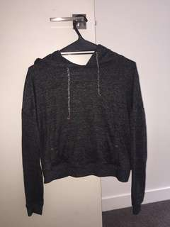 Cotton on cross-back hoodie