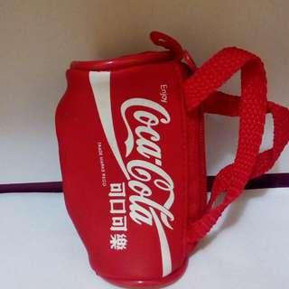 🚚 可口可樂小旅行袋造型零錢包