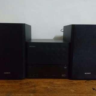 Sony迷你床頭音響