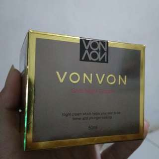 Vonvon 24K gold Night Cream Original