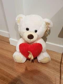 Teddy bear - heart