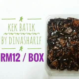 Kek Batik Klasik