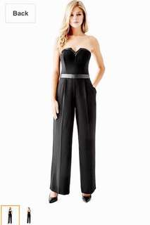 REPRICED!!! Guess Strapless Wide Leg Jumpsuit