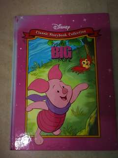 Hardcover: Disney classic storybook Piglets big movie