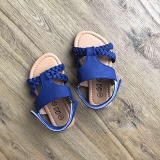 BN Blue Dress Sandals