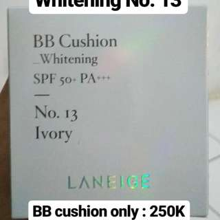 Laneige BB Cushion Whitening No. 13 Ivory