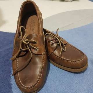 Original Used Sperry Topsider leather