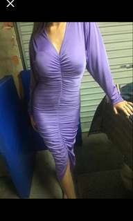 Retro boutique lilac one off dress size 10, $50 Pick Up Joondanna