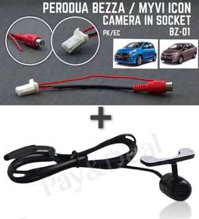 Myvi Icon/Bezza Oem Camera Socket + Camera
