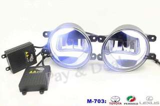 RS703 2IN1 DRL + FOG LAMP 6000k