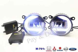 RS701 2IN1 DRL+FOG LAMP 6000k