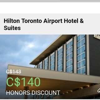 Hilton Toronto Airport Hotel & Suites Discount