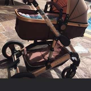 Air Tyress Stroller pram model 2017
