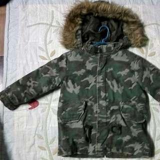 Jacket Hooded Camo