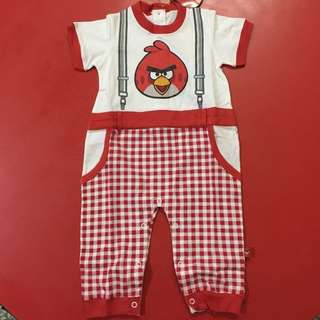 Angry Bird Baby Boy Romper